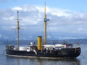 Huascar as museum ship