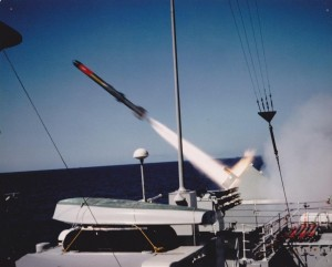 Image 71 ASROC launched