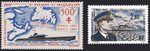 Surcouf Stamps