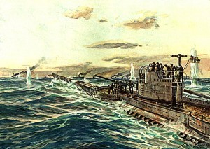 U Cruiser painting by Willy Stower