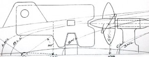 X.1 rear hydroplanes & guard plan view